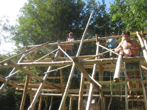 Building rafters